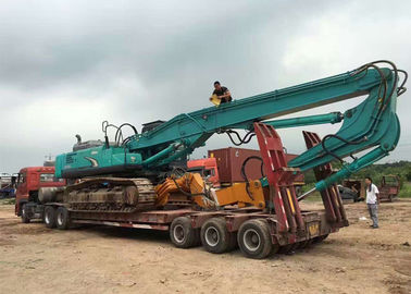 Kobelco Sk460 Excavator Boom Arm Long Special Design For Pile Driver Work