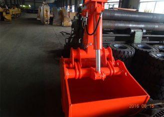 Customized 600L Excavator Bucket Grab Clamshell For Doosan DX150 Excavator
