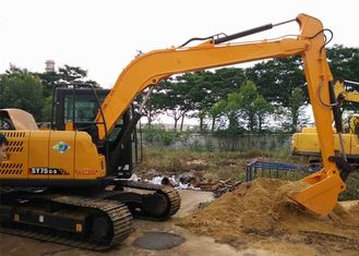 Sany SY75 Excavator Boom Arm , Excavator Boom Extension 9m Length For Subway Construction
