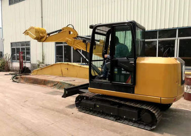 Cina CAT305 Tunnel Long Reach Boom Excavator Dengan Boom Cylinder Arm Cylinder Distributor